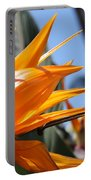 Bird Of Paradise Flowers Portable Battery Charger