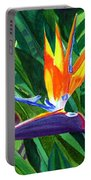 Bird-of-paradise Portable Battery Charger