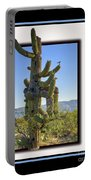 Bird On Cactus Portable Battery Charger