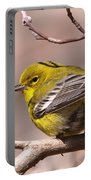 Bird - Pine Warbler - Detail Portable Battery Charger