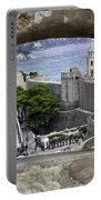Bird's Eye View Of Dubrovnik Portable Battery Charger