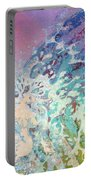 Birth Of Aphrodite From The Sea Foam Portable Battery Charger