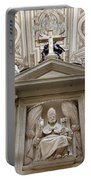 Bishop Sculpture In Cordoba Cathedral Portable Battery Charger