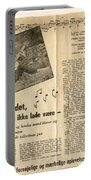 Bits From Danish Article From The Fifties Portable Battery Charger