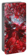 Black And Red Crescendo Portable Battery Charger