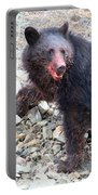 Black Bear Bloodied Lunch Portable Battery Charger