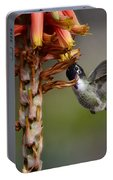 Black Chinned Hummingbird  Portable Battery Charger