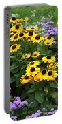 Black Eyed Susan In Castle Garden Portable Battery Charger