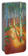 Black Forest Sunset Portable Battery Charger