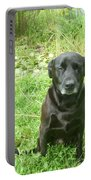 Black Lab Miss You Portable Battery Charger