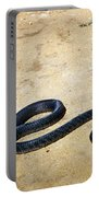 Black Mamba Portable Battery Charger by Elizabeth Kingsley