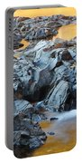 Black River Reflections At Johnsons Shut Ins State Park Vi Portable Battery Charger