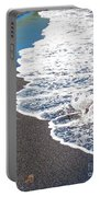 Black Sand Beach Hawaii Portable Battery Charger