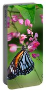 Black Veined Tiger Butterfly Portable Battery Charger