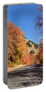 Blacksmith Fork Canyon Autumn Drive - Utah Portable Battery Charger