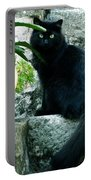 Blacky Cat Portable Battery Charger