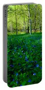 Blanket Of Flowers Portable Battery Charger