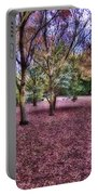 Blanket Of Leaves Portable Battery Charger