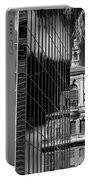 Blending Architecture Black And White Portable Battery Charger