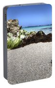 Blonde On The Beach  Portable Battery Charger