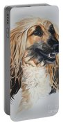 Blonde Portable Battery Charger by Susan Herber