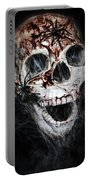 Bloody Skull Portable Battery Charger