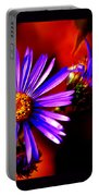 Blooming Asters Portable Battery Charger