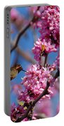 Blossoming Bird Portable Battery Charger
