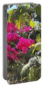 Blossoms And Breadfruit Portable Battery Charger