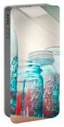 Blue Ball Canning Jars Portable Battery Charger
