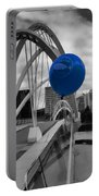 Blue Balloon Portable Battery Charger
