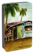 Blue Beach Shack Los Pinones Puerto Rico Portable Battery Charger