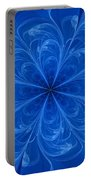 Blue Bloom Portable Battery Charger