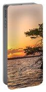 Blue Cypress Lake Sunrise Portable Battery Charger