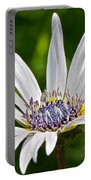 Blue Eyed Daisy Portable Battery Charger