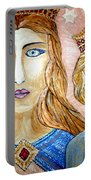 Blue Eyes Portable Battery Charger