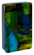 Blue Feather Reflections Portable Battery Charger
