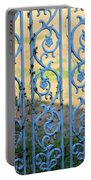 Blue Gate Swirls Portable Battery Charger