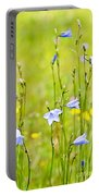Blue Harebells Wildflowers Portable Battery Charger