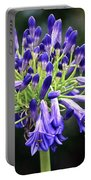 Blue Lily Of The Nile Portable Battery Charger