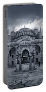 Blue Mosque Courtyard Portable Battery Charger