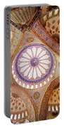 Blue Mosque Domed Ceiling Portable Battery Charger