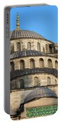 Blue Mosque Domes Portable Battery Charger