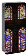 Blue Mosque Stained Glass Windows Portable Battery Charger