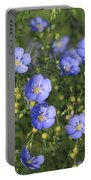 Blue Prairie Wildflowers Portable Battery Charger