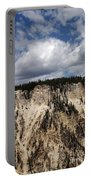 Blue Skies And Grand Canyon In Yellowstone Portable Battery Charger