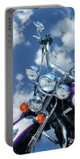 Blue Sky Harley Portable Battery Charger