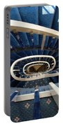 Blue Spiral Stairsway Portable Battery Charger
