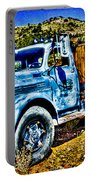 Blue Truck Portable Battery Charger