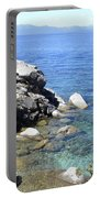 Blue Waters Of Lake Tahoe Portable Battery Charger